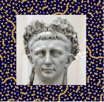 Terzanel as the emperor Claudius